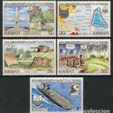 Sellos: KIRIBATI 1983 IVERT 109/13 *** 40º ANIVERSARIO DE LA BATALLA DE TARAWA . Lote 97844067