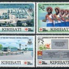 Sellos: KIRIBATI 1991 IVERT 245/8 *** EXPOSICIÓN FILATÉLICA INTERNACIONAL EN TOKYO - PHILANIPPON-91. Lote 97845243