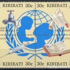 Sellos: KIRIBATI 1996 IVERT 375/8 *** 50º ANIVERSARIO DE UNICEF. Lote 97845543