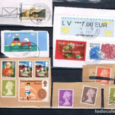 Sellos: FRAGMENTOS SELLOS EUROPA ACTUALES. Lote 97879727