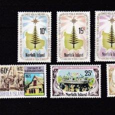 Sellos: NORFOLK ISLANDS AÑO 1975 NUEVOS * (MH) LOTE 53 B. Lote 103491883