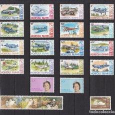Sellos: NORFOLK ISLANDS AÑO 1980 NUEVOS * (MH) LOTE 56. Lote 103492319