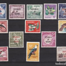 Sellos: NAURU ISLAND AÑO 1968 NUEVOS * (MH) LOTE 66 A. Lote 103493895