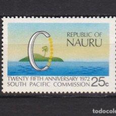 Sellos: NAURU ISLAND AÑO 1972 NUEVOS * (MH) LOTE 66 A. Lote 103494055