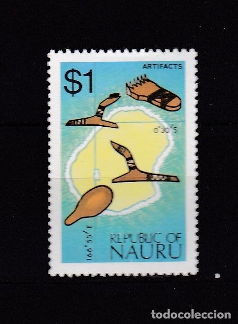 NAURU ISLAND AÑO 1973 NUEVOS * (MH) LOTE 66 D (Sellos - Extranjero - Oceanía - Otros paises)