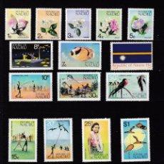 Sellos: NAURU ISLAND AÑO 1973 NUEVOS * (MH) LOTE 67. Lote 103494311