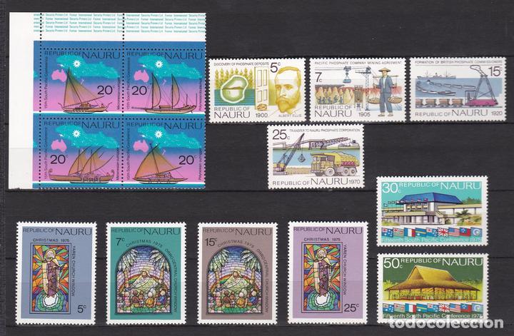 NAURU ISLAND AÑO 1975 NUEVOS * (MH) LOTE 68 A (Sellos - Extranjero - Oceanía - Otros paises)