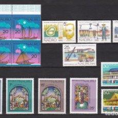 Sellos: NAURU ISLAND AÑO 1975 NUEVOS * (MH) LOTE 68 A. Lote 103494447