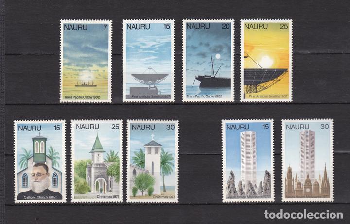 NAURU ISLAND AÑO 1977 NUEVOS * (MH) LOTE 68 B (Sellos - Extranjero - Oceanía - Otros paises)