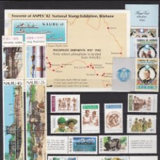 Sellos: NAURU ISLAND AÑO 1982 NUEVOS * (MH) LOTE 72. Lote 103494747