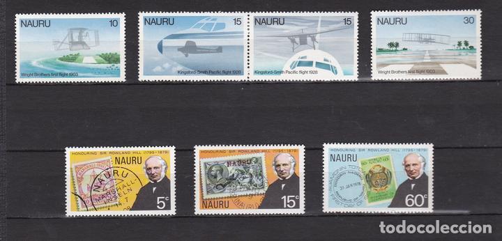 NAURU ISLAND AÑO 1979 NUEVOS * (MH) LOTE 71 - B (Sellos - Extranjero - Oceanía - Otros paises)