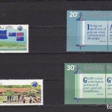 Sellos: NAURU ISLAND AÑO 1980 NUEVOS * (MH) LOTE 71 - A. Lote 103494979