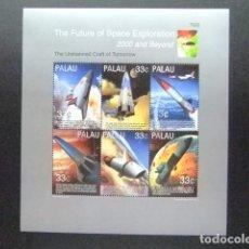 Sellos: PALAU 2000 EXPLORACION DEL ESPACIO YVERT 1432 / 37 ** MNH. Lote 104386651