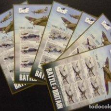 Stamps - Solomon Islands 2010 World War II, Battle of Britain, Aviation Yvert 00 ** MNH - 111225331