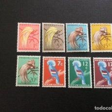 Sellos: NUEVA GUINEA HOLANDESA Nº YVERT 25/9*** AÑO 1954-9. AVES. Lote 114661751