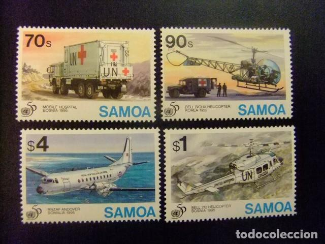 SAMOA 1995 50 ANNIVERSAIRE ONU YVERT N 822 / 25 ** MNH (Sellos - Extranjero - Oceanía - Otros paises)