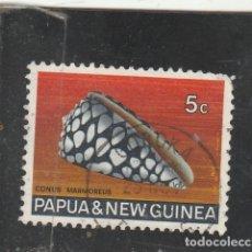 Sellos: PAPUA NUEVA GUINEA 1968 - SG NRO. 140 - USADO-FALTA UN DIENTE. Lote 121078403