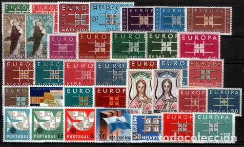 TEMA EUROPA - 1963 - COMPLETO TEMA EUROPA 36 SELLOS (Sellos - Extranjero - Oceanía - Otros paises)