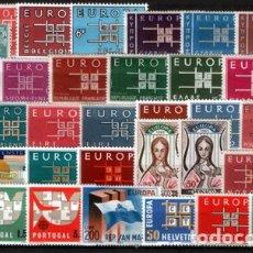 Sellos: TEMA EUROPA - 1963 - COMPLETO TEMA EUROPA 36 SELLOS. Lote 123920871