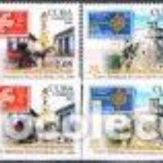 Sellos: CUBA - 4275/4278 - 50 AÑOS DE LA PRIMERA EMISIÓN DE LOS SELLOS DEL TEMA EUROPA.. Lote 123926851