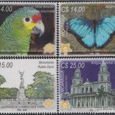 Sellos: NICARAGUA 2637/2640 2005 50 AÑOS DE LA PRIMERA SERIE DEL TEMA EUROPA MNH. Lote 123932668