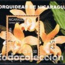 Sellos: NICARAGUA HB 314 2005 ORQUÍDEAS DE NICARAGUA MNH. Lote 123932708