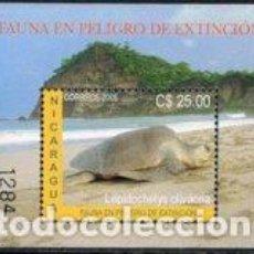 Sellos: NICARAGUA HB 315 2005 FAUNA EN VÍAS DE EXTINCIÓN MNH. Lote 123932712