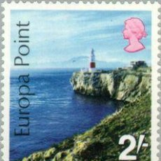 Sellos: VAR1/S GIBRALTAR Nº 231 1970 EUROPA PEÑÓN LUJO MNH. Lote 123943408