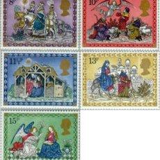 Sellos - REL/S Gran Bretaña UK Nº 917/21 1979 Navidad-escenas-Lujo - 123943727