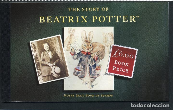 Gran Bretaña 1655-c 1993 50º Aniv De La Muerte De Beatrix Potter Carnet De Pr