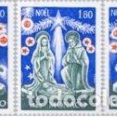Sellos - Monaco - 1352/54 - 1982 Navidad-escenas de la natividad-Lujo - 123946874