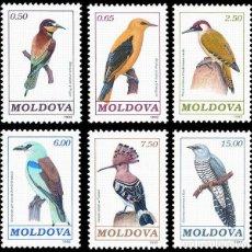 Stamps - Moldavia - 10/15 - 1992 Fauna Pájaros Lujo - 123952499