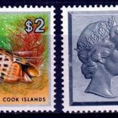 Sellos: 1975. AITUTAKI, COOK ISLANDS. SERIE. REINA ISABEL Y CONCHAS MARINAS **.MNH. Lote 124437811