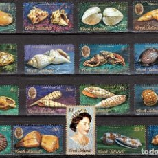 Stamps - 1974. ISLAS COOK . SERIE, CONCHAS MARINAS **.MNH - 124523539