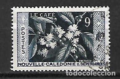 CAFÉ DE NUEVA CALEDONIA. SELLO AÑO 1955 (Sellos - Extranjero - Oceanía - Otros paises)