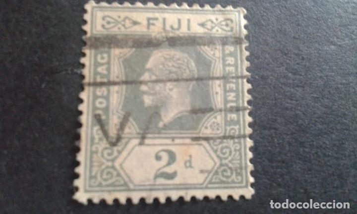 FIJI,COLONIA BRITÁNICA,1922-1927,JORGE V,SCOTT 98,USADO,(LOTE AG) (Sellos - Extranjero - Oceanía - Otros paises)