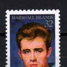 Sellos: JAMES DEAN ISLAS MARSHALL 1996 YVERT 689 MICHEL 714 SCOTT 610. Lote 133492995