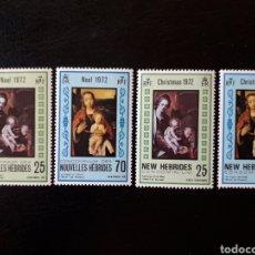 Sellos - NUEVAS HÉBRIDAS. (VANUATU). YVERT 350/3. SERIE COMPLETA NUEVA SIN CHARNELA. NAVIDAD. PINTURAS. - 136657345