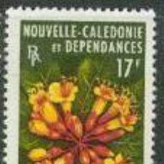 Sellos: SELLO NUEVO CON LIGERAS MARCA DE CHARNELA DE NUEVA CALEDONIA, YT 321. Lote 139657666
