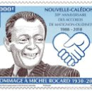 Sellos: NEW CALEDONIA 2018 - HOMMAGE À MICHEL ROCARD MNH. Lote 140952842