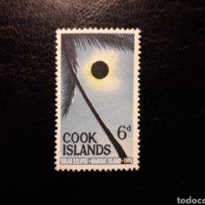 Sellos: ISLAS COOK. YVERT 100. SERIE COMPLETA NUEVA SIN CHARNELA. ECLIPSE DE SOL. Lote 143648120