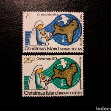 Sellos: CHRISTMAS. YVERT 59/60. SERIE COMPLETA NUEVA SIN CHARNELA. NAVIDAD. MAPAS.. Lote 143649552