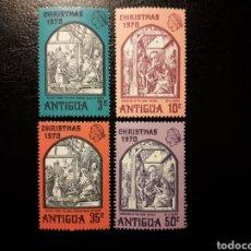 Timbres: ANTIGUA. YVERT 249/52. SERIE COMPLETA NUEVA SIN CHARNELA. NAVIDAD. Lote 143651065