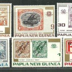Sellos: PAPUA 1973 IVERT 253/8 *** 75º ANIVERSARIO DEL SELLO - FILATELIA. Lote 145737914