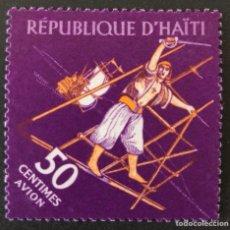 Sellos: SELLO NUEVO DE HAITÍ 50CTS- BARCO **. Lote 147482549