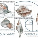 Sellos: TAAF 2019 - COQUILLAGES DE TERRE ADÉLIE SHEET MNH. Lote 165112906