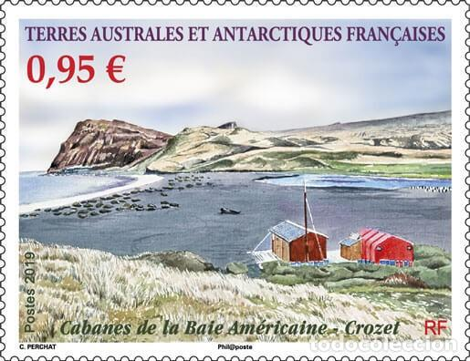 TAAF 2019 - CABANES DE LA BAIE AMÉRICAINE - CROZET MNH (Sellos - Extranjero - Oceanía - Otros paises)
