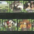 Sellos: ISLAS COOK 2013 SC 1482/90 *** PARAISO DE LAS TIERRAS ALTAS - COSTUMBRES Y FOLKLORE. Lote 151127118