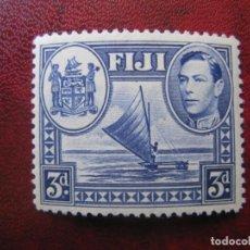 Sellos: FIJI, 1938 YVERT 108. Lote 151493702