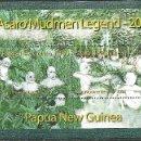 Sellos: PAPUA Y NUEVA GUINEA 2008 HB IVERT 43 *** LEYENDA GUERREROS ASARO CUBIERTOS DE BARRO - HISTORIA. Lote 154248330